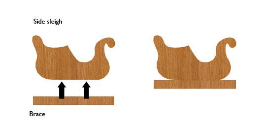 Wood Work How To Make A Santa Sleigh PDF Plans