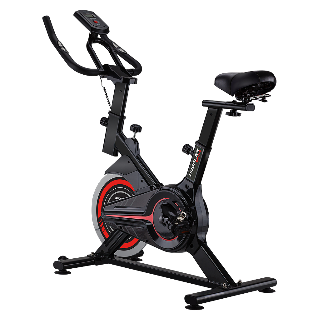 NEW-PROFLEX-Spin-Bike-Flywheel-Commercial-Gym-Exercise-Home-Fitness-Workout thumbnail 36